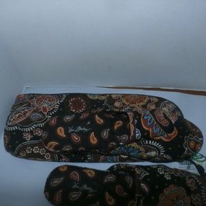 Vera Bradley Shoes - Vera Bradley Floral Slippers With Case NEW